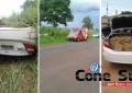Traficante é perseguido e preso ao capotar veículo carregado de droga na MS-156 em Caarapó