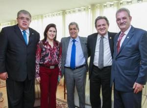 André quer lideranças do partido trabalhando pela reestruturação do PMDB (Foto: Divulgação, Luis Carlos Campos Sales, ASC Moka)
