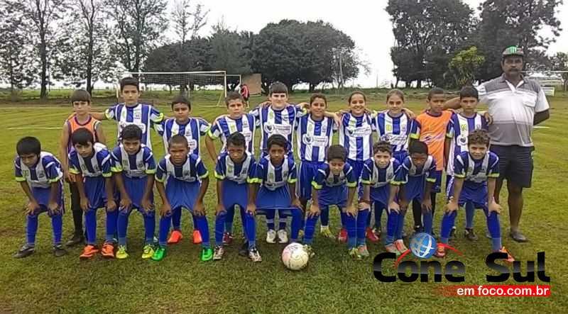 Atletas da categoria Sub-11, de Itaquiraí, disputarão a final contra a equipe de Iguatemi