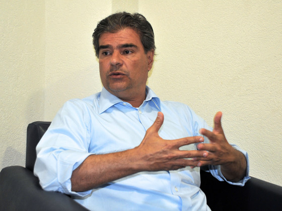 Nelsinho Trad esclareceu que a pré-candidatura será escolhida depois de amplo entendimento - Foto: Paulo Ribas / Correio do Estado